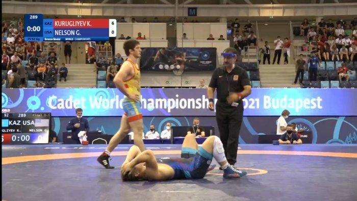 Борец из Актау Камиль Куруглиев завоевал бронзовую медаль на чемпионате мира в Венгрии