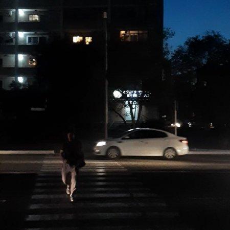 Освещение пешеходного перехода ВИДЕО
