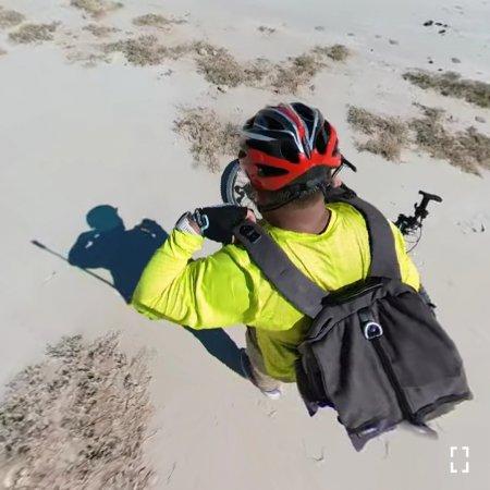На велосипеде по долине 360° ВИДЕО