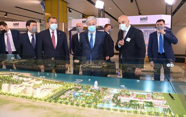 Касым-Жомарту Токаеву презентовали проекты развития туристического кластера на побережье Каспия