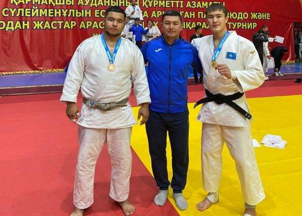 Призёрами международного турнира стали дзюдоисты из Мангистау